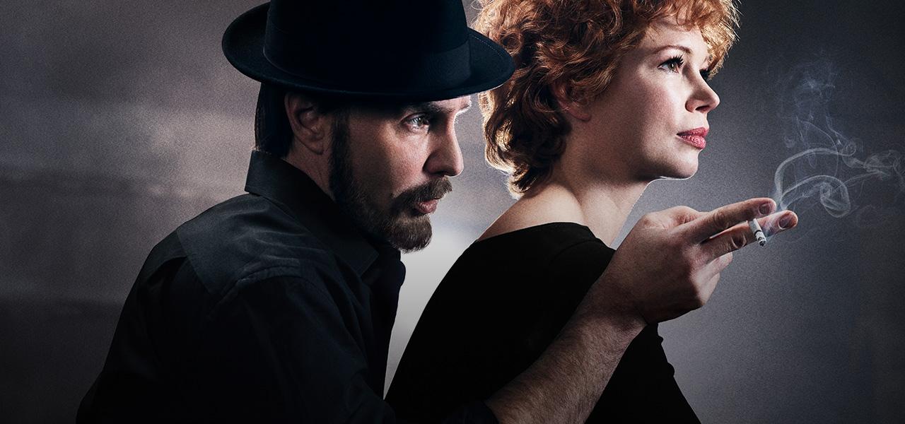 Verdon (Michelle Williams) & Fosse (Sam Rockwell)