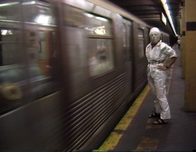 Still - Would You Like To Meet Your Neighbor? A New York Subway Tape.