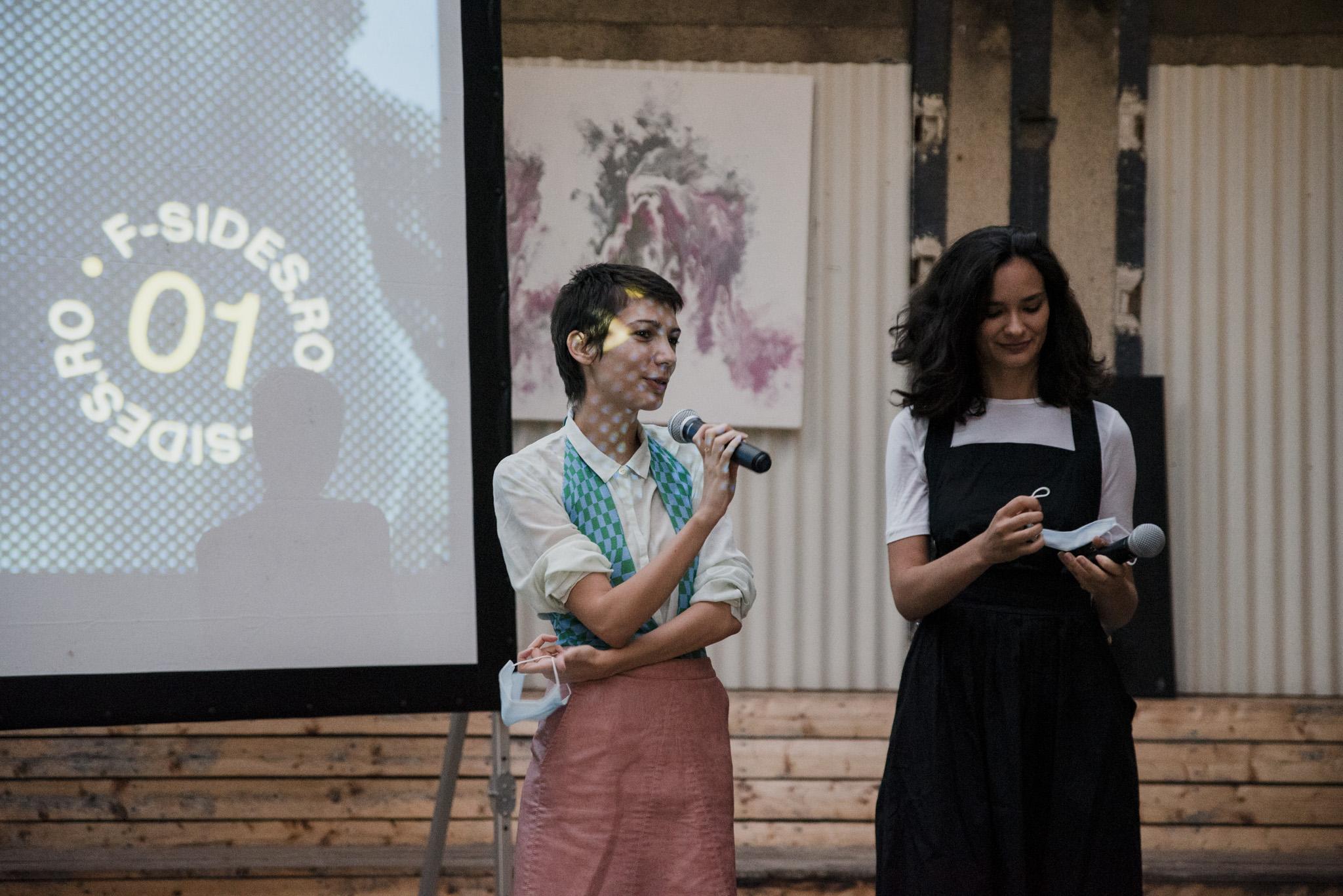 Ioana Diaconescu și Alexandra Lulache. Credits: Diana Elena Păun.