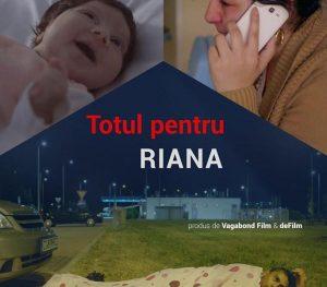 Poster Totul pentru Riana