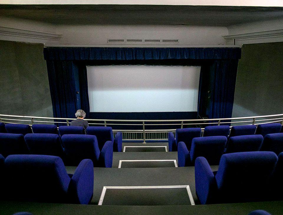 Cinema Eforie. Foto via Libertatea