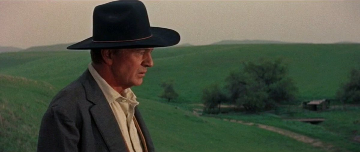 "Cadru din ""Man of the West"" (r. Anthony Mann)"