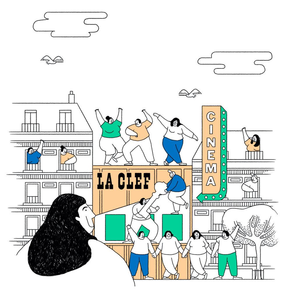 O grafică de pe website-ul La Clef Revival.